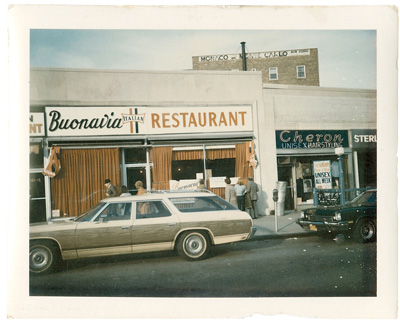 Buonavia was Lidia's first restaurant, located in Forest Hills, NY; the restaurant opened in 1971.