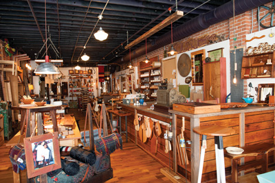 Jonathan Moran Woodworks has a large selection of wood products.