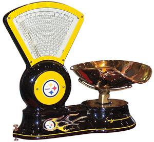 Vintage Steelers' scale