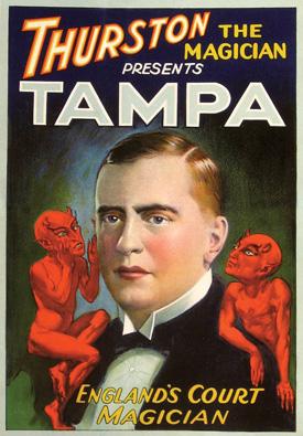 Sugden as Tampa poster