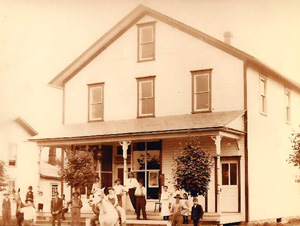 Coolspring village's General Store (still standing today), circa 1900.
