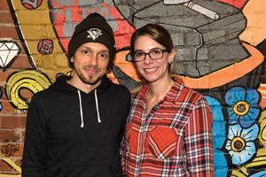 Atelier's owners Matt and Vanessa Marietti.