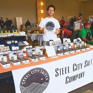 John Tarallo, owner of Steel City Salt.