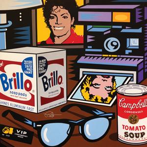 Andy Warhol (Nightstand Portrait series).