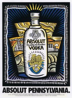 Absolut Pennsylvania (Absolut Vodka Statehood campaign).