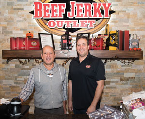 Brothers Rick and Doug Young, owners.