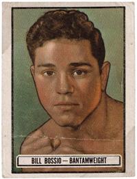 Bill Bossio trading card (courtesy of Daniel Bossio).