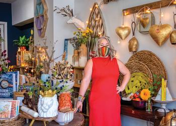 spruce & adore owner Jenifer Schweitzer.