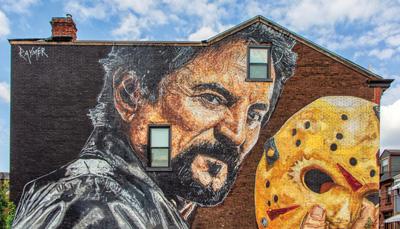 Tom Savini (Pittsburgher, make-up artist, actor, film  director), 177 40th St. (rear parking lot).